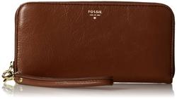 Sydney Zip Clutch Wallet by Fossil in Spy