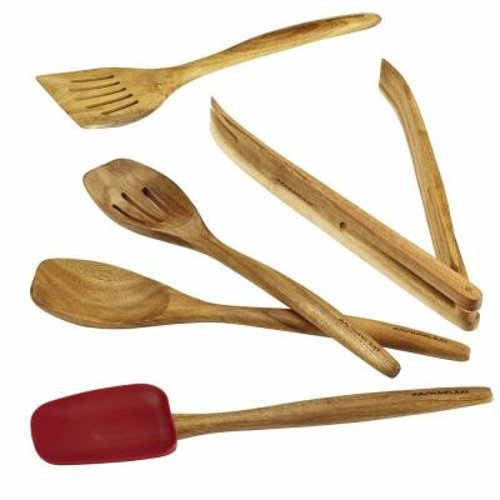 Cucina Tools 5-Piece Wooden Tool by Rachael Ray in That Awkward Moment