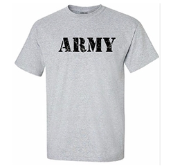 Vintage Army Logo T-Shirt by Joe's USA in Keeping Up With The Kardashians