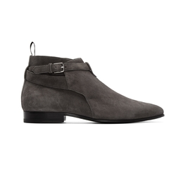 Suede London Boots by Saint Laurent in Empire