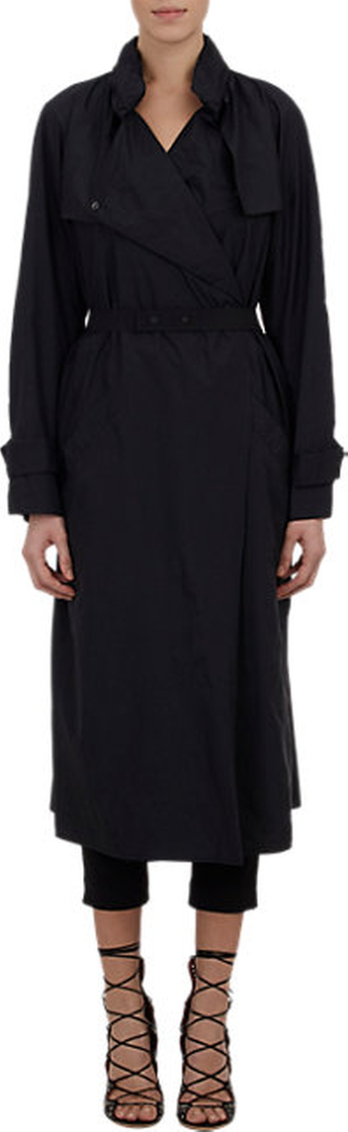 Garnet Raincoat by Isabel Marant in Mission: Impossible - Rogue Nation