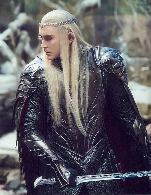 Custom Made Thranduil Costume by Ann Maskrey & Bob Buck (Costume Designer) in The Hobbit: The Battle of The Five Armies