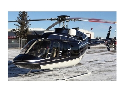 Textron 407 Helicopter by Bell in Terminator: Genisys