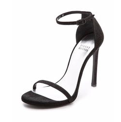 Nudist Single Band Sandals by Stuart Weitzman in Keeping Up With The Kardashians