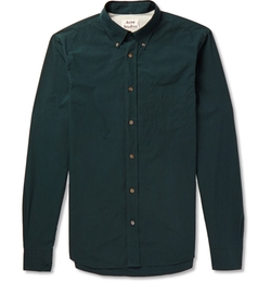 Isherwood Button Down Collar Shirt by Acne Studios in Ballers