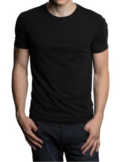 Basic Short Sleeve Crew Neck T- Shirt by GENTS in This Is Where I Leave You