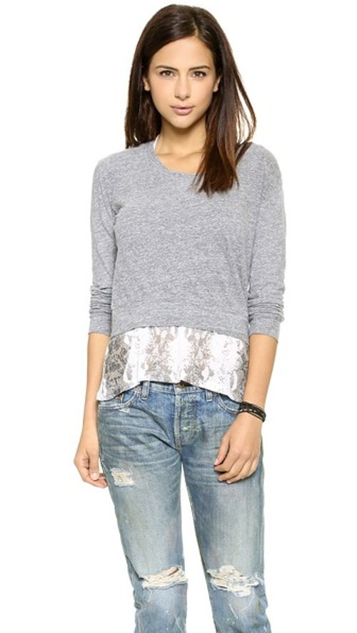 Layer Crop Top by Monrow in The DUFF