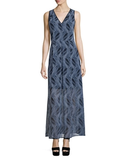 Burrel A-Line Maxi Dress by Michael Michael Kors in Mistresses