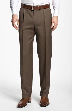 Pleated Trousers by Canali in Million Dollar Arm