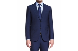 Torino Peak-Lapel Two-Piece Wool Suit by Ermenegildo Zegna in Suits