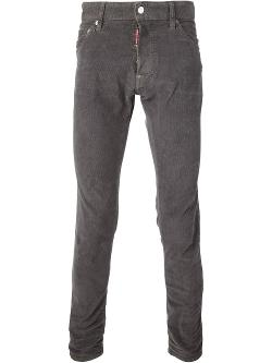 Corduroy Trousers by Dsquared2 in A Good Day to Die Hard