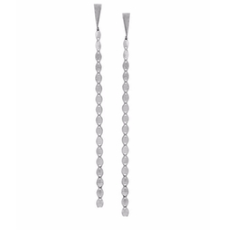 Nude Chain Duster Earrings by Lana in Fifty Shades Darker