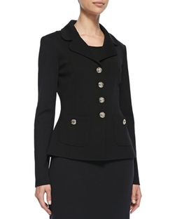 Button-Front Jacket by St. John Collection  in Pretty Little Liars