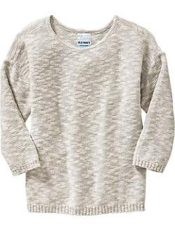 Girl's Marled Crew-Neck Sweaters by Old Navy in Beyond the Lights