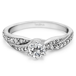 Sterling Silver Promise Ring by TwoBirch in Pretty Little Liars