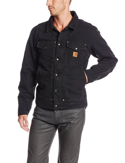 Berwick Denim Jacket by Carhartt in Boyhood