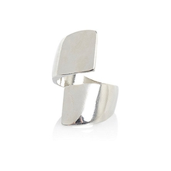 Silver Tone Wrap Ring by River Island in The Wolverine