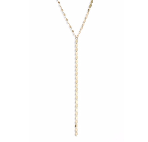 'Nude' Y-Necklace by Lana Jewelry in Conviction - Season 1 Preview