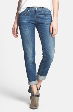 'The Dre' Slim Fit Boyfriend Jeans by Rag & Bone in Before I Wake