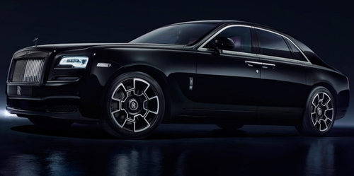 Ghost Black Badge Sedan by Rolls Royce in Keeping Up With The Kardashians - Season 12 Episode 7