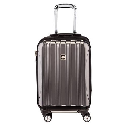 Luggage Helium Aero International Carry On Expandable Spinner Trolley by Delsey in Million Dollar Arm