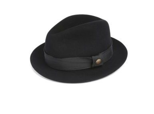 Ricci Wool Felt Fedora by Goorin Bros. in Mr. Robot - Season 2 Episode 3