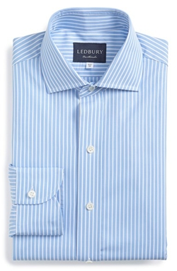 'Banker Stripe' Dress Shirt by Ledbury in Nashville