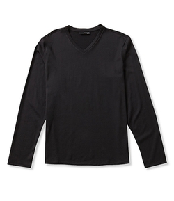 Long-Sleeve Slim-Fit V-Neck Tee by Murano in Modern Family