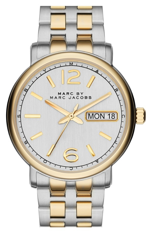 'Fergus' Stainless Steel Watch by Marc by Marc Jacobs in Thor