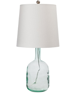 Glass Bottle Table Lamp by Regina Andrew in Adult Beginners