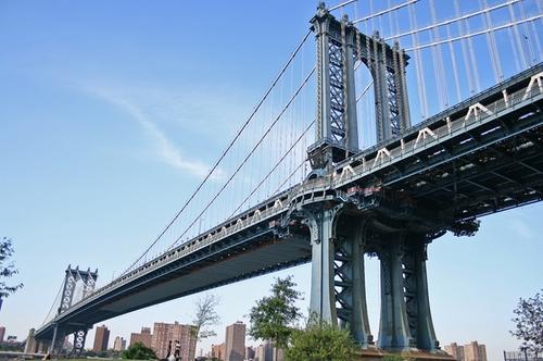 Manhattan Bridge New York City, New York in Suits - Season 5 Episode 3 - No Refills