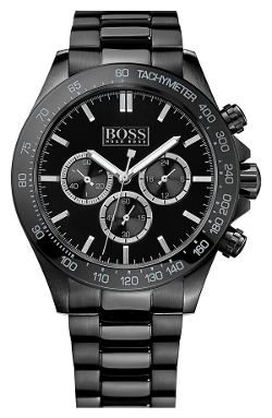 Round Chronograph Bracelet Watch by Boss Hugo Boss in Entourage