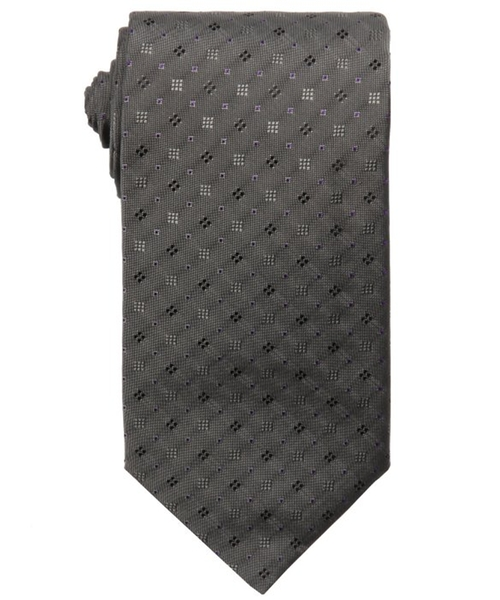 Dotted Print Silk Tie by Higo Boss in Jessica Jones - Season 1 Episode 6