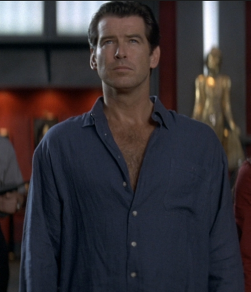 Button Down Shirt by Angelo Litrico in Tomorrow Never Dies