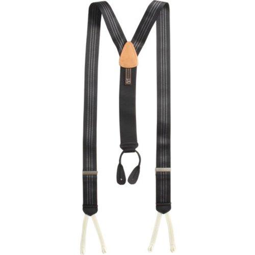 Formal Ascot Stripe Suspenders by Trafalgar in Birdman