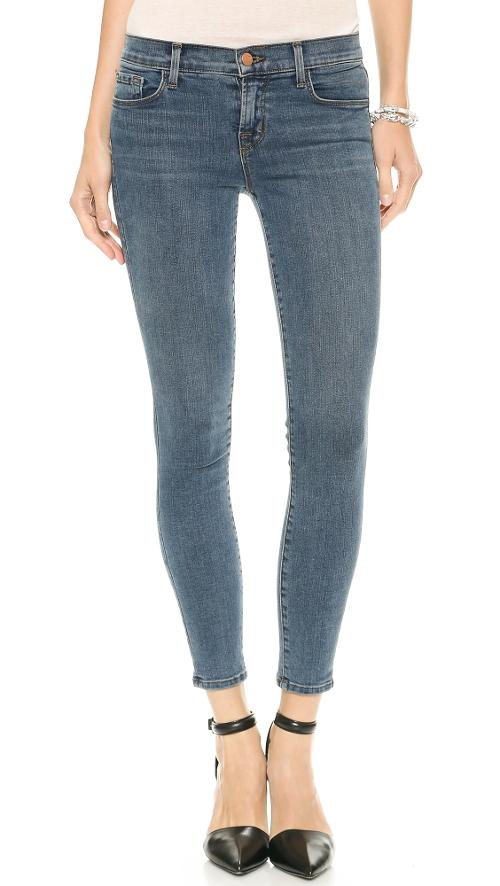 835 Mid Rise Photo Ready Cropped Skinny by J Brand in The Other Woman