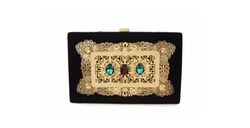 Treasury Clutch Bag by Garéma in Empire