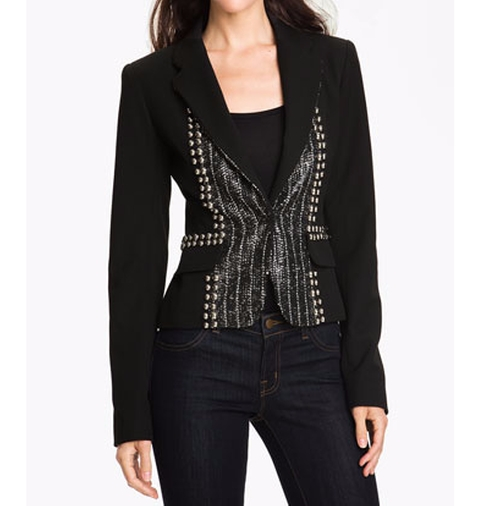 'Fame' Embellished Blazer by Nanette Lepore in Gossip Girl - Series Looks