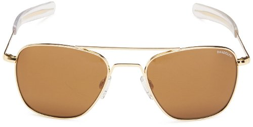 Aviator Square Sunglasses by Randolph in Entourage