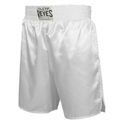 Satin Boxing Trunks by Cleto Reyes in Hands of Stone