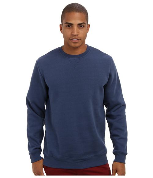 Core Basics Crew Fleece II Sweatshirt by Vans in Ride Along