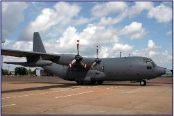 C-130A Hercules Plane by Lockheed in Furious 7