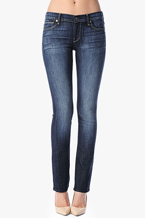 Classic Straight Leg Jeans by 7 For All Mankind in Crazy, Stupid, Love.