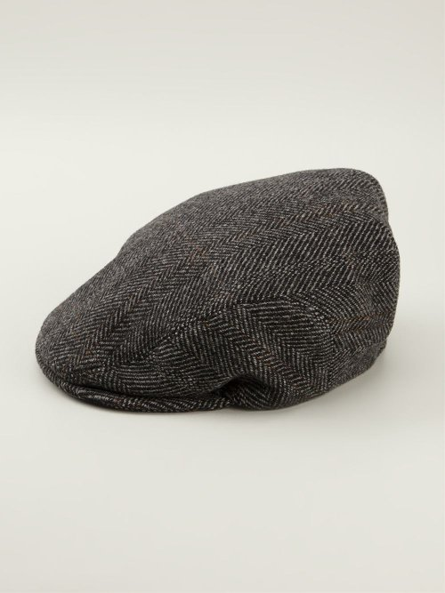Herringbone Flat Cap by Dolce & Gabbana in Horrible Bosses 2