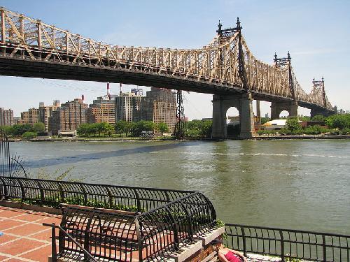 Queensboro Bridge New York City, New York in The Great Gatsby