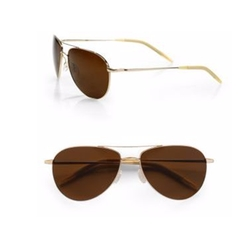 Benedict Aviator Sunglasses by Oliver Peoples in Keeping Up With The Kardashians