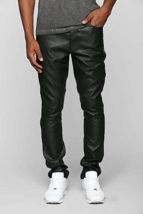 Vegan-Leather Skinny Pant by KC By Kill City in Beyond the Lights