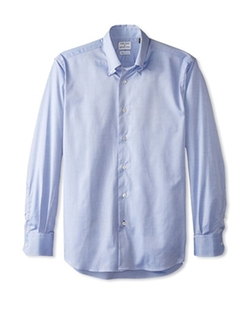 Solid Button-Down Shirt by Gitman in Inherent Vice