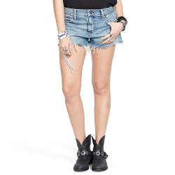 Noll Cutoff Boyfriend Shorts by Ralph Lauren in The Place Beyond The Pines