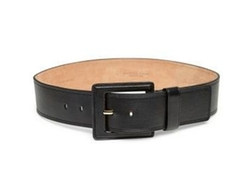 Wide Leather Belt by Michael Kors Collection in Designated Survivor